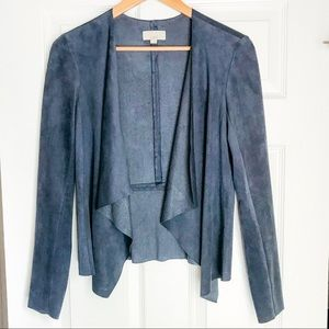 NEW. Faux Suede Jacket